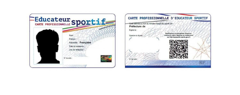 carte professionnelle coach sportif Demander sa carte d'éducateur sportif – Ordre des masseurs