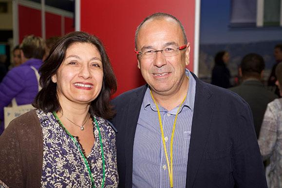 Avec Ramon aiguadé catalan et membre de l'ordre national espagnol