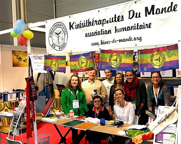 L'Ordre soutient Kinésithérapeutes du Monde qui facilite l'accès aux soins de kinésithérapie dans le monde