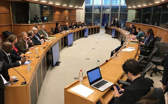 Workshop en présence du député européen Gilles Pargneaux vice président de la commission ENVI.