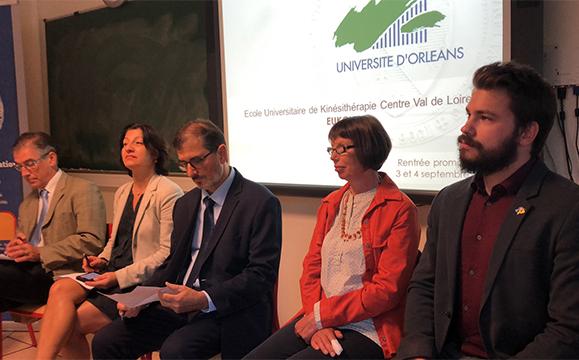 Pdt de la FNEK, Vpdte de l'univeristé d'Orléans, Jean-Jacques Bergeau délégué ARS, Pdte CNOMK et vice doyen médecince de l'université de Tours